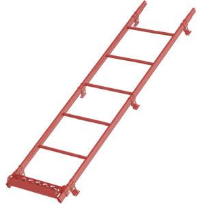 Комплект лестница кровельная BORGE для кровли из металлочерепицы, профнастила, композитной черепицы, материалов на основе битума