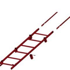 Лестница кровельная на фальц с креплением GL (1920 мм)