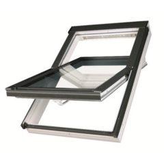 Окно мансардное Fakro PTP-V U3 ПВХ белое с вентиляционным клапаном