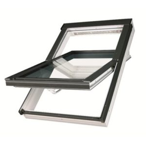 Окно мансардное Fakro Plastic PTP U3 белое