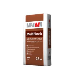 Монтажная смесь МАГМА «MultiBlock»