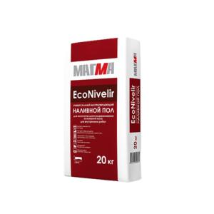 Универсальный быстротвердеющий наливной пол «EcoNivelir»