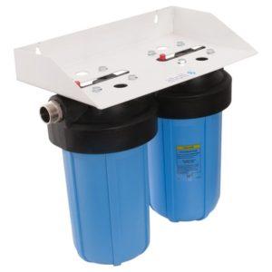 Фильтр магистральный atoll I-21BB-e ECO. Фильтр двухступенчатый для холодной воды 2хBig Blue 20 (бе