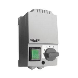 Регулятор скорости пятиступенчатый Shuft SRE-E-10,0/S с термозащитой