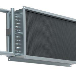 Водяной нагреватель для прямоугольных каналов WHR 300*150-3