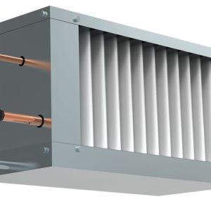 Фреоновый охладитель для прямоугольных каналов WHR-R 400*200-3