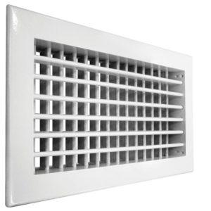 Настенная двухрядная решетка Shuft 2 WA 150*150