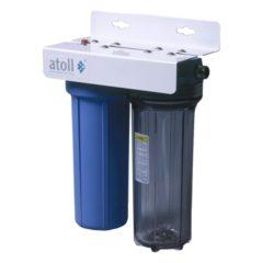 Фильтр магистральный ATOLLl I-21SC-ps STD с механическим и умягчающим картриджами