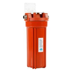 Фильтр Atoll I-11SH-p STD для гор воды с механическим 10 20 мк, кроншт. 1/2 внш.р.