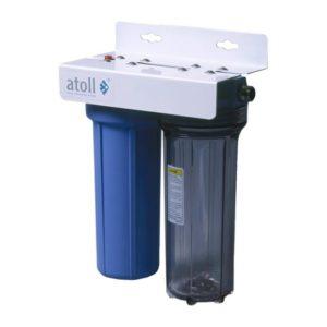 Система в/о бытовая ATOLL I-21SC-pc STD с механическим и угольным картриджами